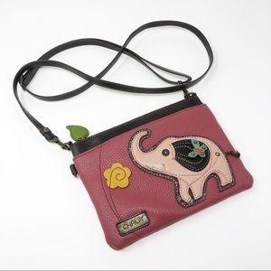 Chala Flower Elephant Mini Crossbody Bag Purse